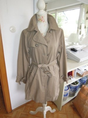 In Linea Trenchcoat Mantel mittellang Beige Gr. 40