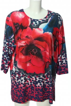 In-Print Shirttunika Allover-Druck Casual-Look