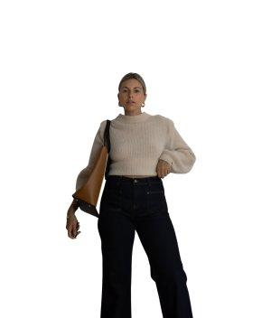 In Wear Jeansschlaghose schwarz Casual-Look