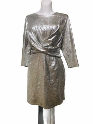 INC International Concept Silber Metallic Damen Kleid XL
