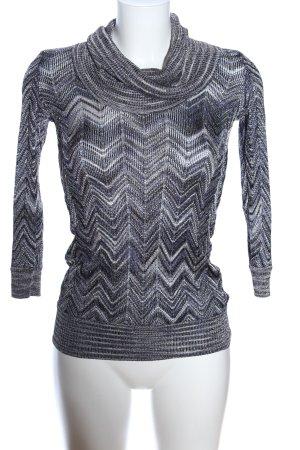 INC International Concepts Camisa de cuello de tortuga gris claro moteado