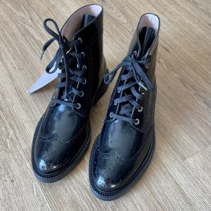 INCH2 Lace-up Boots black