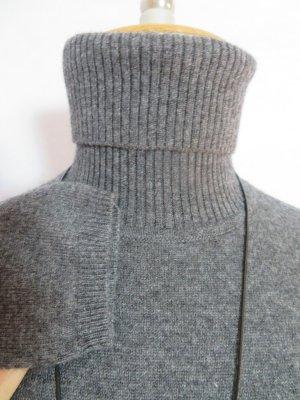 include Rollkragen-Pullover von Peter Hahn - Anthrazit-Melange- 100% Wolle/Kaschmir - Größe 38 - NEU! Aktuelle Kollektion.
