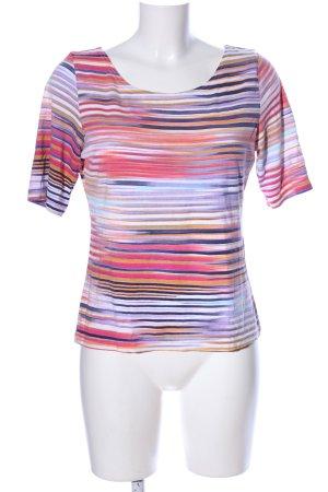 Inco Fashion T-Shirt Allover-Druck Casual-Look
