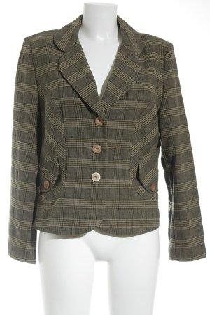 Inco Fashion Tweedblazer camel-taupe Streifenmuster Business-Look