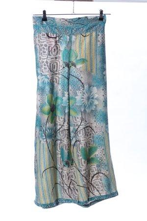 India Town Pantalone culotte motivo astratto stile casual