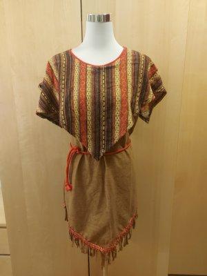 Indianer Kostüm Kleid Fasching