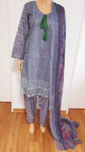 1 brand Peplum Dress grey