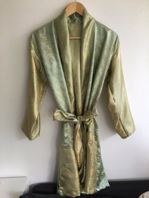 Wraparound Jacket grass green-gold-colored