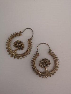 Cache-oreilles bronze-doré