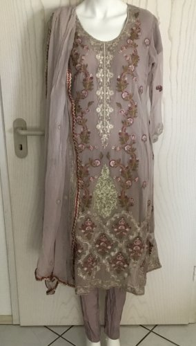 Indische Pakistanische Kleidung 3 Teile Bollywood Salwar Kameez in M 40 42