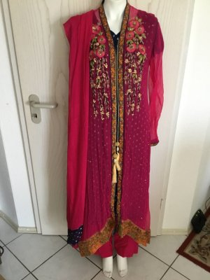 Indische Pakistanische Kleidung 4 Teile Bollywood Salwar Kameez in L 44 46