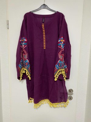 Origins Tunic Dress multicolored cotton