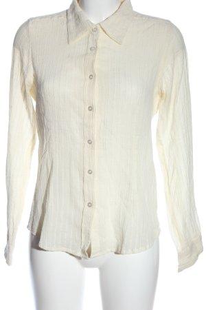 Indiska Blusa-camisa blanco puro look casual