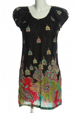 Indiska Minikleid Allover-Druck Casual-Look