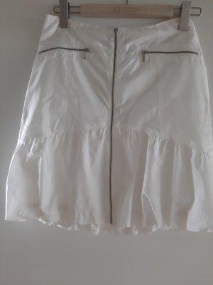 Falda globo blanco