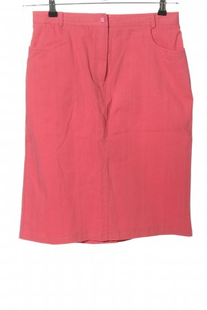 Infinity High Waist Rock pink Casual-Look