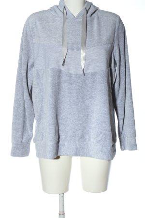 Infinity Kapuzensweatshirt hellgrau meliert Casual-Look