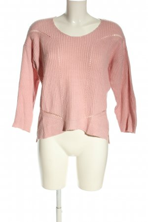 Infinity Strickpullover pink Casual-Look