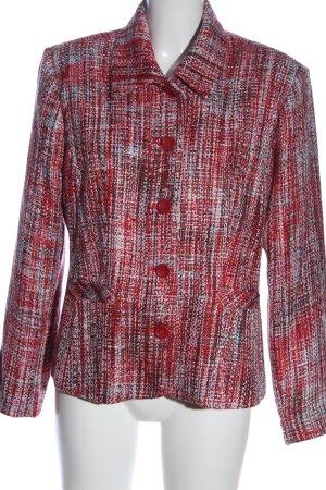 Infinity Tweed Blazer red-light grey flecked casual look