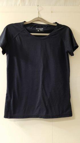 Infinity Woman Basic T-Shirt dunkelblau Gr. M