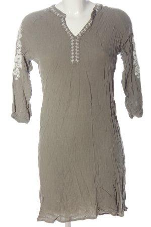 Infinity woman Longsleeve Dress light grey casual look