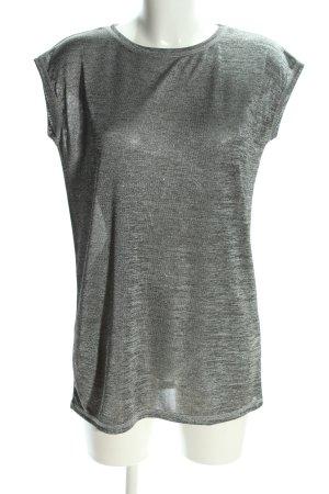 Infinity woman Camicia oversize grigio chiaro puntinato stile casual