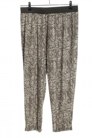 Infinity woman Bloomers light grey-brown allover print casual look mixture fibre