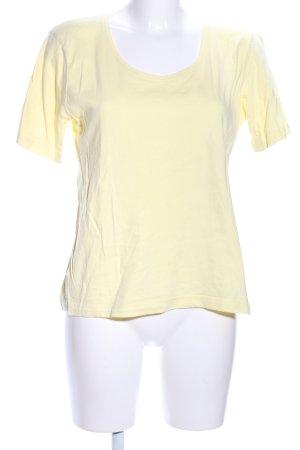 Infinity woman T-Shirt blassgelb Casual-Look
