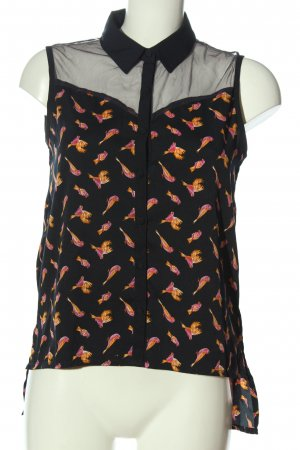 Influence Blouse Top allover print casual look