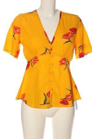 Influence Camicetta a maniche corte motivo floreale stile casual