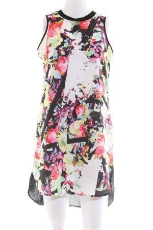 Influence Midi Dress flower pattern casual look
