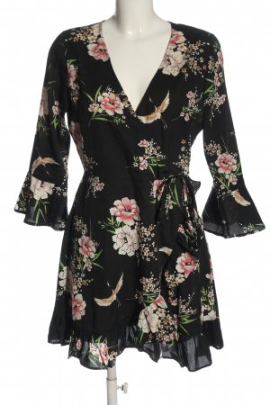 Influence Mini Dress allover print casual look