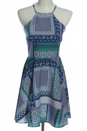 Influence Halter Dress abstract pattern casual look