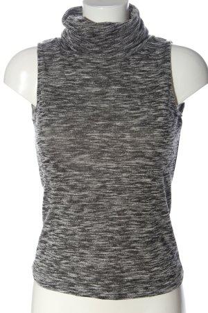 Innocence Koszulka z golfem jasnoszary-czarny Melanżowy W stylu casual