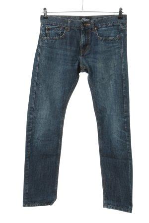 InScene Pantalon cinq poches bleu style décontracté