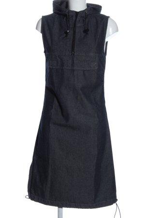 InScene Jeanskleid blau meliert Casual-Look