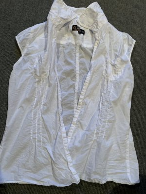 InScene Blusa sin mangas blanco
