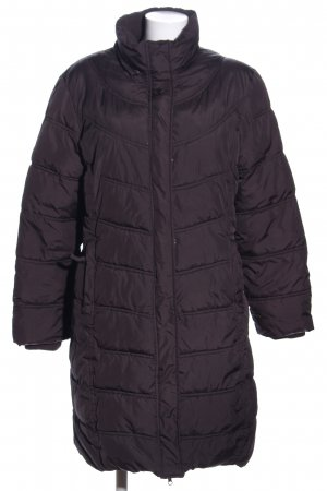 InScene Quilted Coat lilac quilting pattern casual look