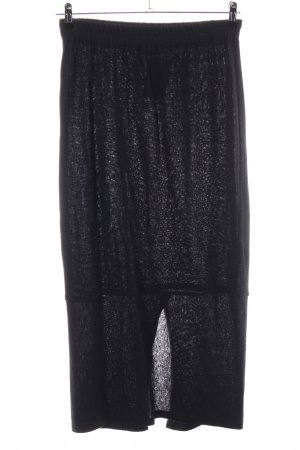inSein Knitted Skirt black casual look
