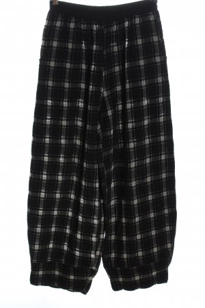 inSein Woolen Trousers black-light grey check pattern casual look
