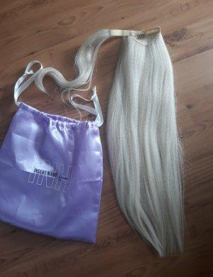 insert name here ponytail haarteil