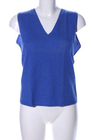 Insieme Feinstrickpullunder blau Casual-Look