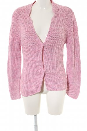 Insieme Grobstrickjacke pink Casual-Look