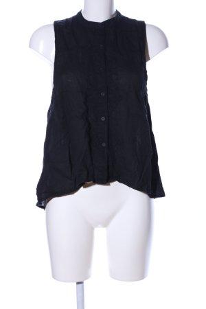 Insight ärmellose Bluse schwarz Casual-Look