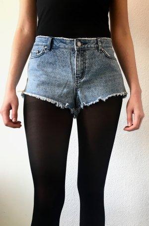 Insight Hotpant Jeansshorts Shorts Jeans Aztekenmuster - 38