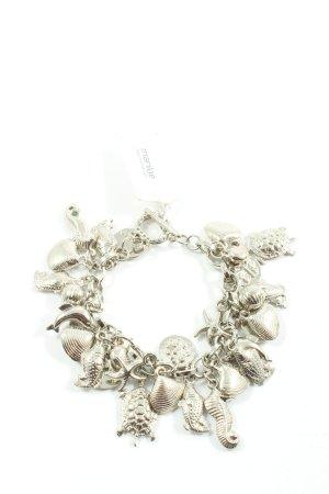 Inspire Bracelet à breloques argenté élégant