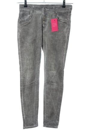 Instyle Skinny Jeans hellgrau Casual-Look