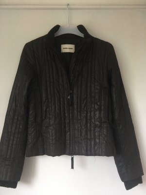 More & More Quilted Jacket taupe-black
