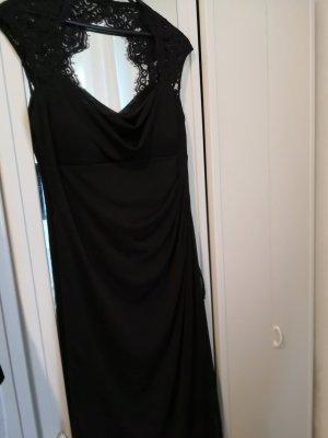 XSCAPE Chiffon Dress black polyester